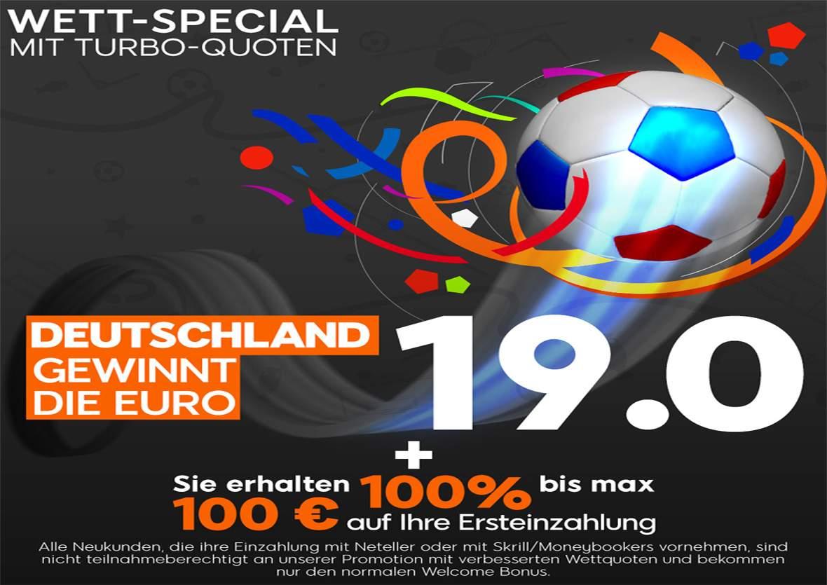 888sport Wett-Special Deutschland gewinnt die Euro