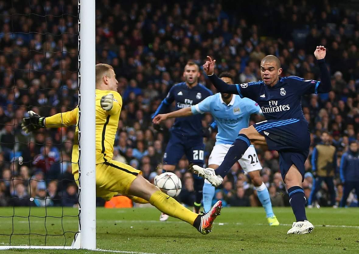 Rettet Hart wieder gegen Pepe? Unser Tipp: Real gewinnt gegen Man City