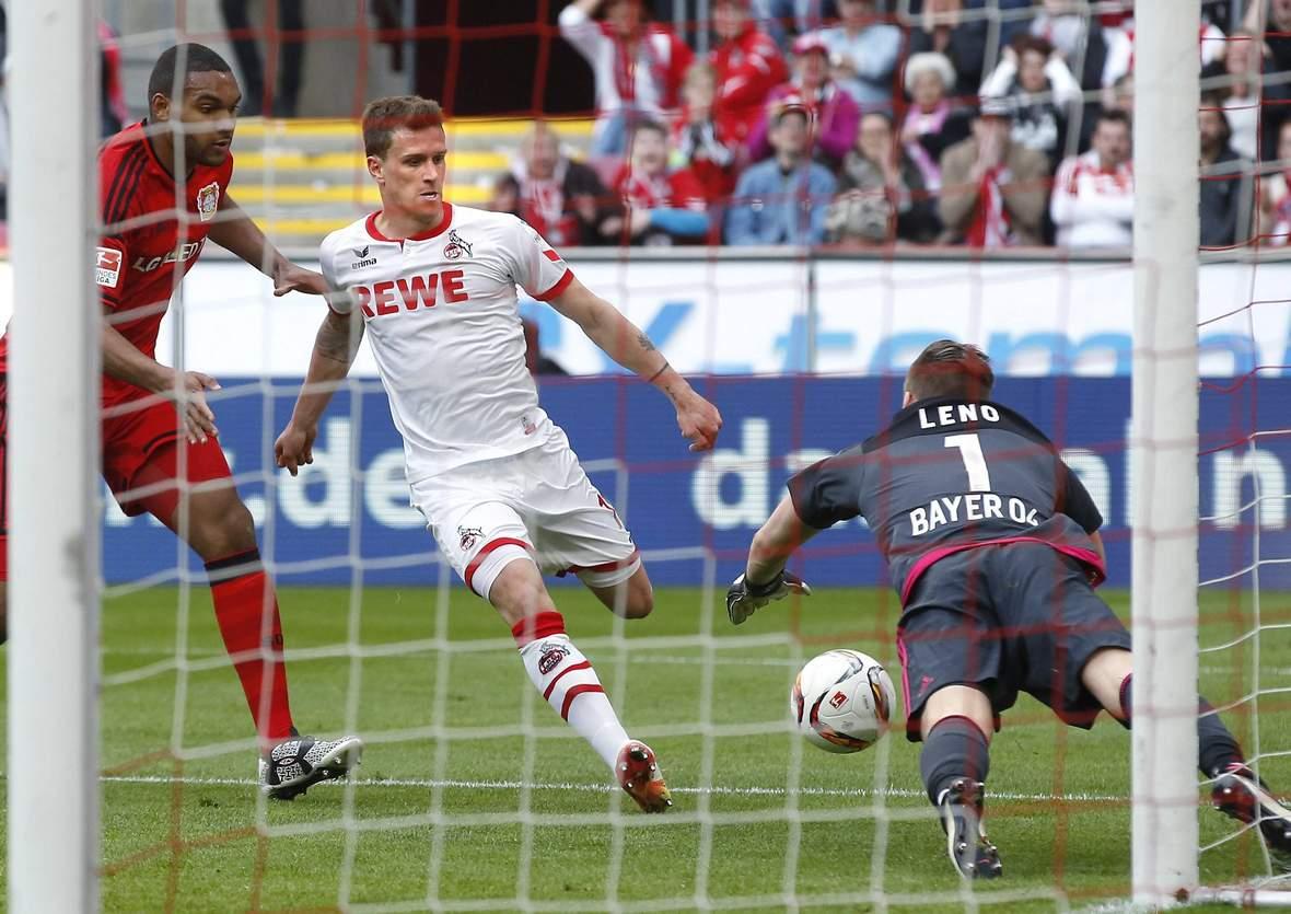 Trifft Zoller wieder gegen Leno? Jetzt auf Leverkusen gegen Köln wetten