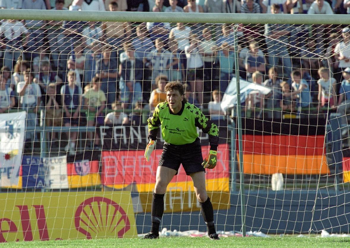 Dirk Heyne spielte von 1977 bis 1991 für die Profis des FCM.